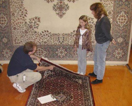 Rug Cleaning Process | Reilly's Rug